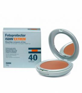 FOTOPROTECTOR ISDIN EXTREM SPF-40 MAQUILLAJE COMPACTO OIL-FREE 10 G